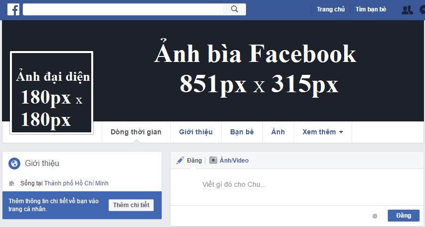 kích thước ảnh bìa facebook 4