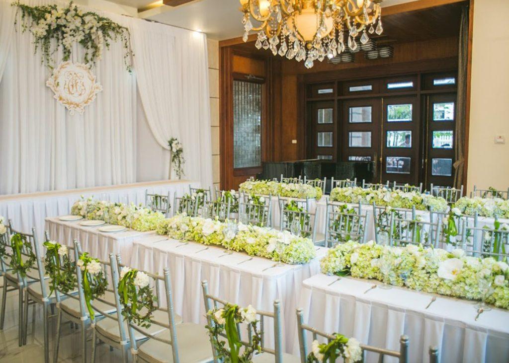 trang trí tiệc cưới tại nhà 1