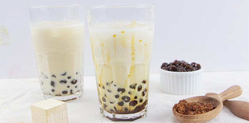 cách làm trà sữa trân châu đường đen 2