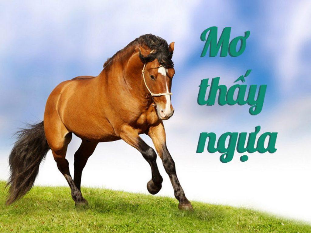 nằm mơ thấy ngựa đánh con gì 2