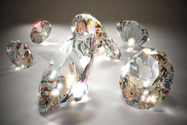 mơ thấy kim cương
