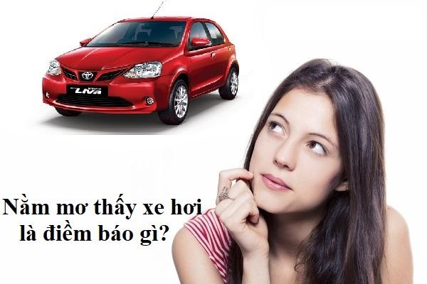 Mơ lái xe ô tô đánh con gì