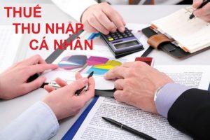 Thuế thu nhập cá nhân là gì