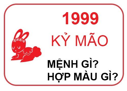 1999 mệnh gì